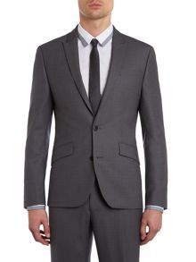 Lawton Tonal Slim Fit Suit Jacket