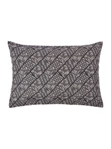 Linea Mono mark chevron diamond cushion 35x50cm