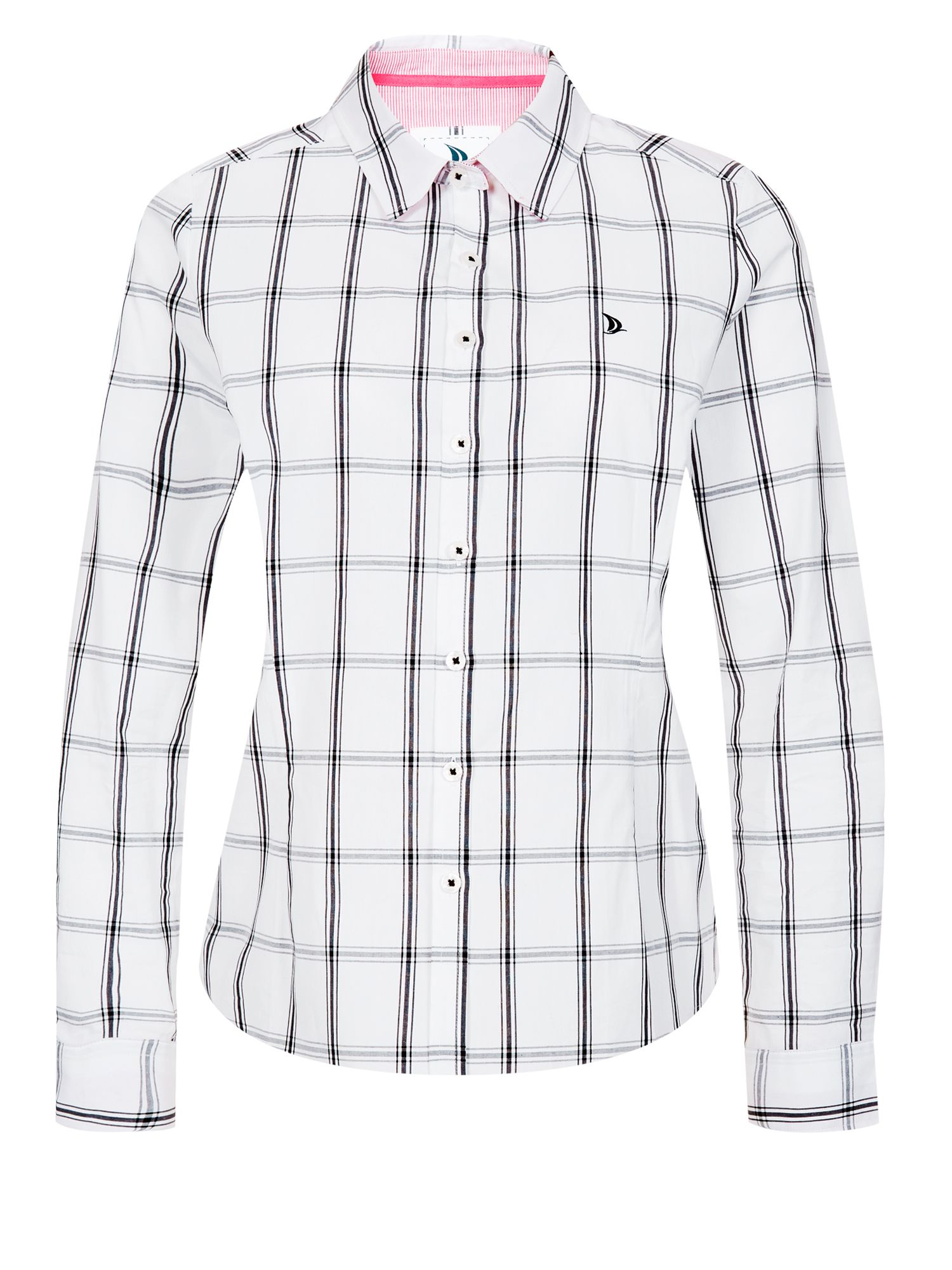 Check Contrast Shirt