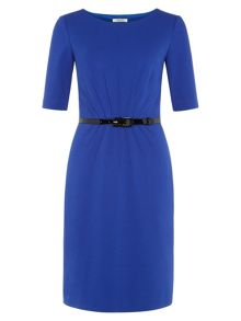 Cobalt Blue Shift Dress