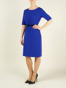 Precis Petite Cobalt Blue Shift Dress