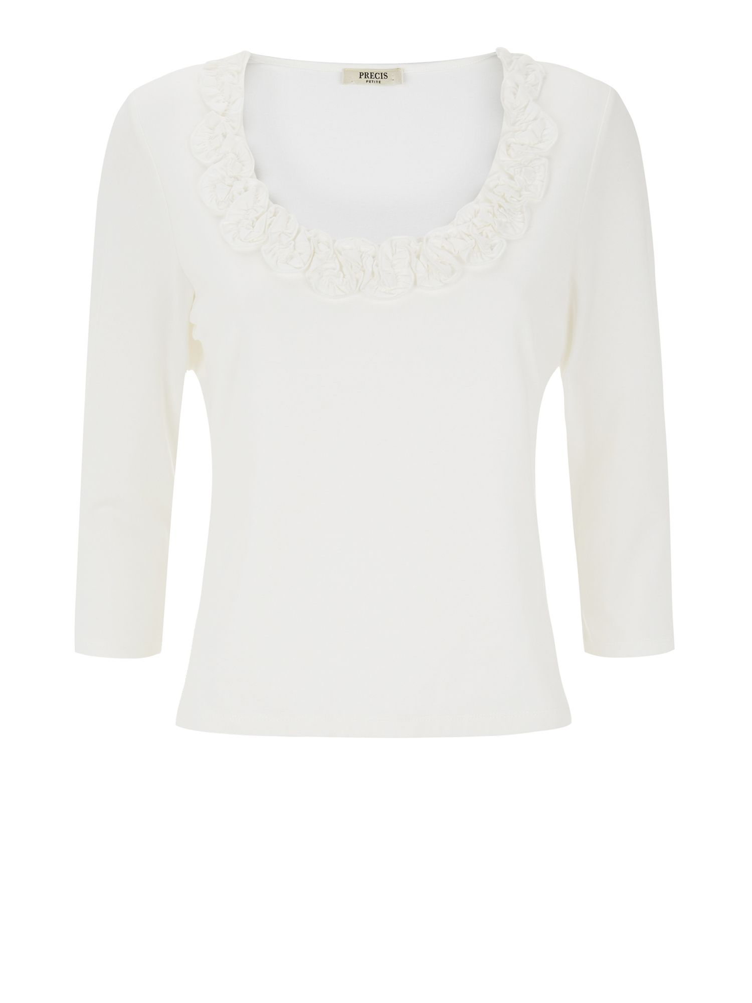 Ivory Twist Neck Top