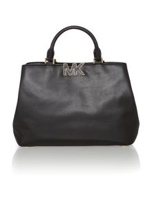 Florence black tote bag