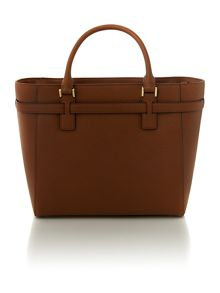 Hamilton tan grab tote bag