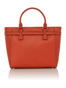 Hamilton orange grab tote bag