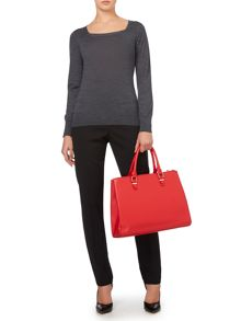 Essential Merino Square Neck Jumper