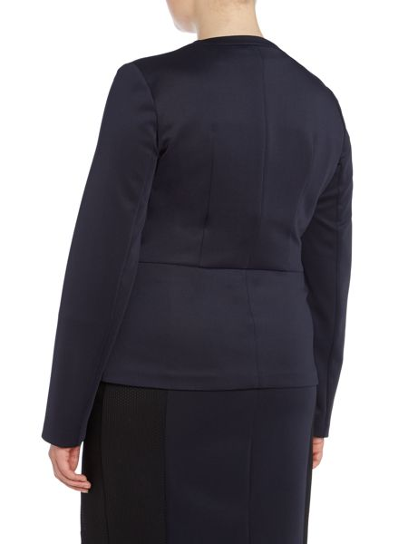 Persona Cortesia scuba panel jacket