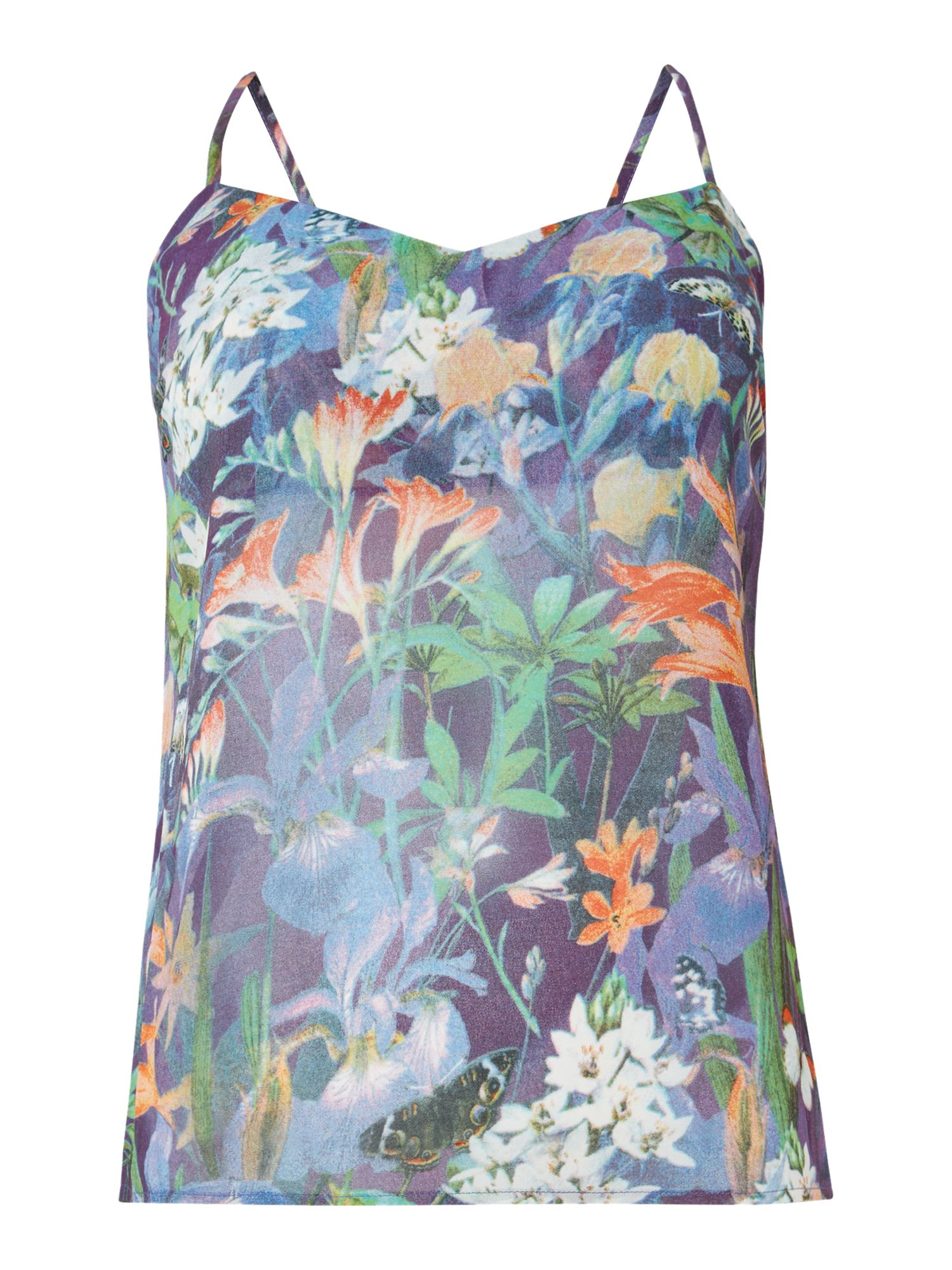 SL Tropical Print Cami Top