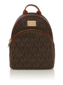 Jet Set Item brown small backpack
