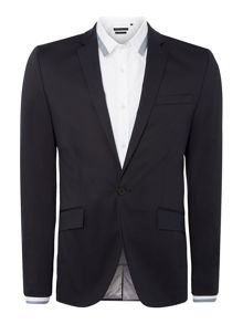 Kenneth Cole Jacob slim cotton stretch suit jacket