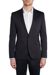 Jacob slim cotton stretch suit jacket