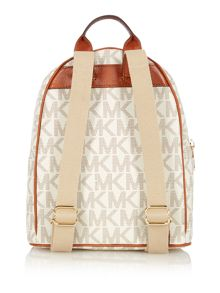 Jet Set Item neutral stud small backpack
