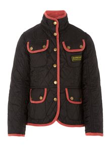 Girls Vintage International quilted jacket