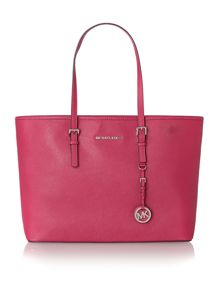 Jet Set Travel pink medium tote bag