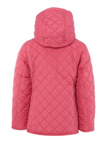 Girls quilted barn jacket