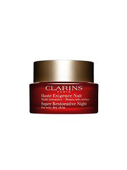 Clarins Super Restorative Night Dry Skin 50ml