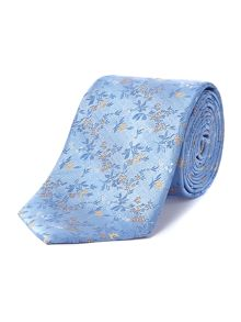 Howick Tailored Caldwell small ditsy flower jacquard tie