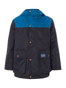 Joules Boys colour block coat