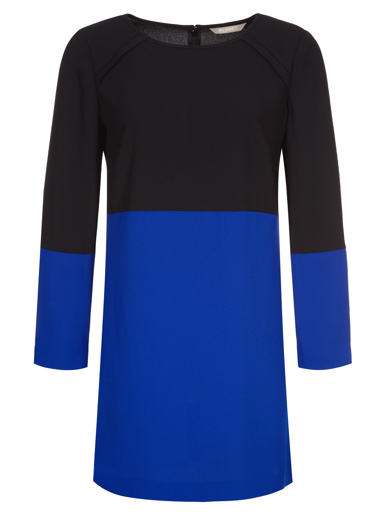 Colourblock tunic