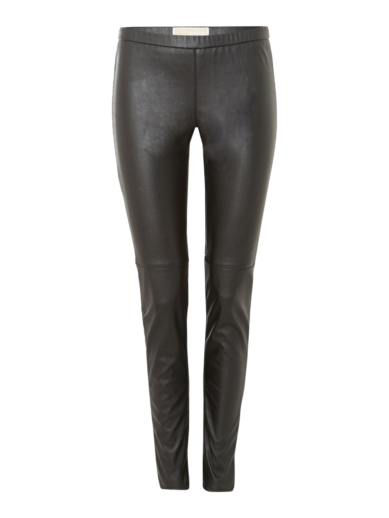 Faux leather legging