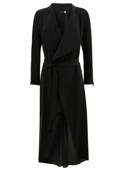 Black Sheer Trench