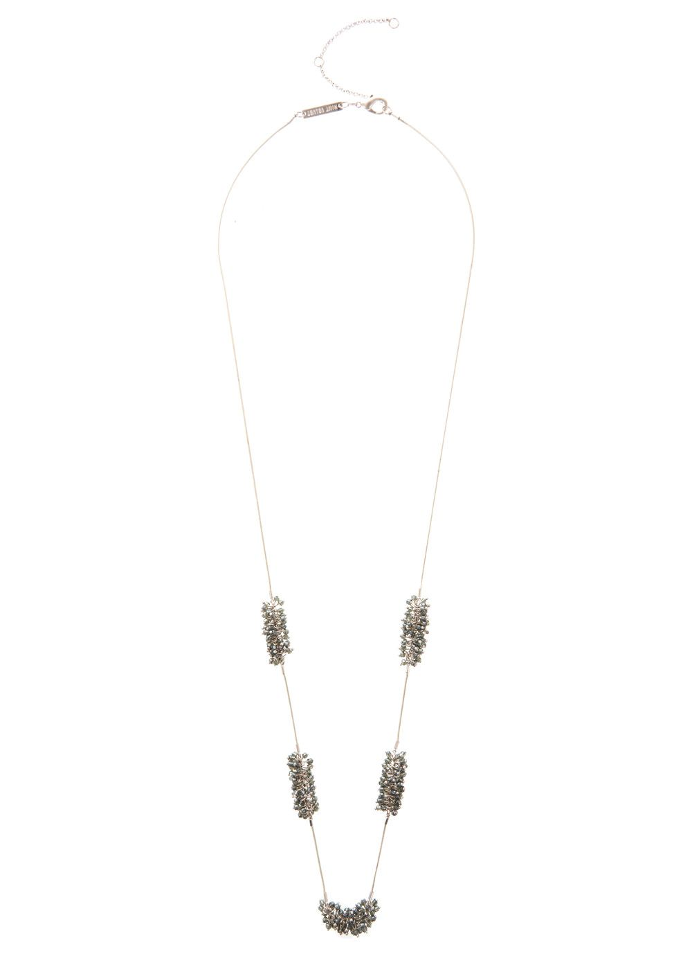 Long Cluster Necklace