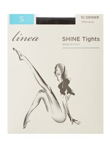 Linea Shine 10 den tight
