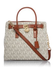 Hamilton neutral large tote bag