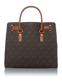 Hamilton brown large tote bag