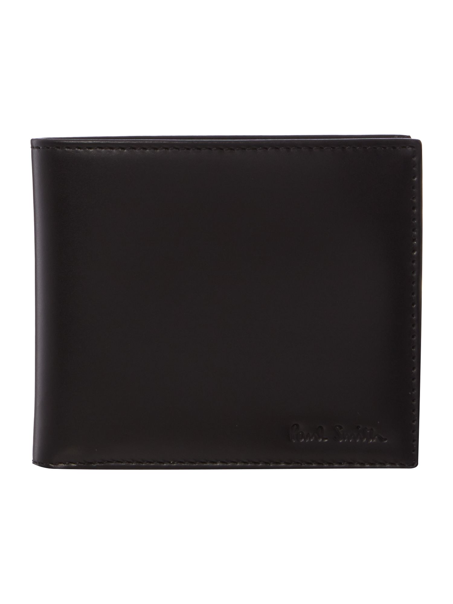 Internal multistripe billfold wallet