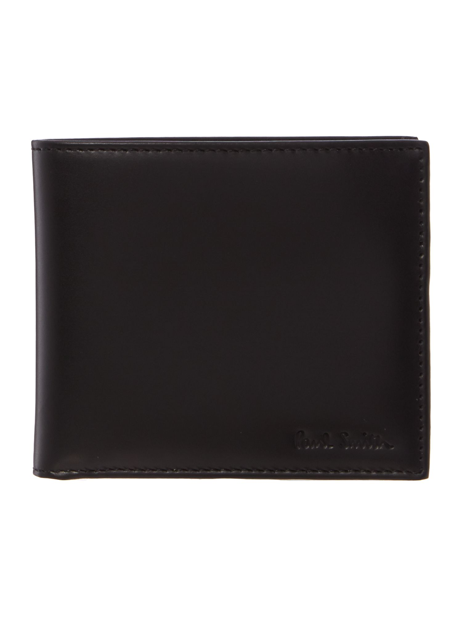 Internal multistripe billfold coin wallet