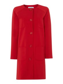 Claudia cocoon outerwear coat