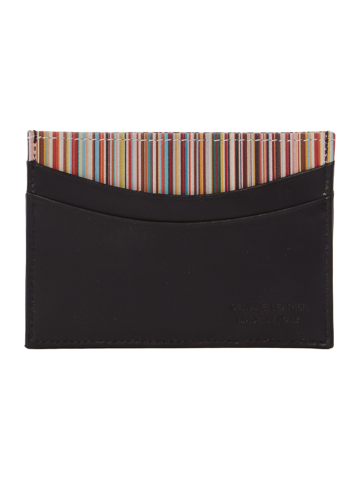Internal stripe credit card holder