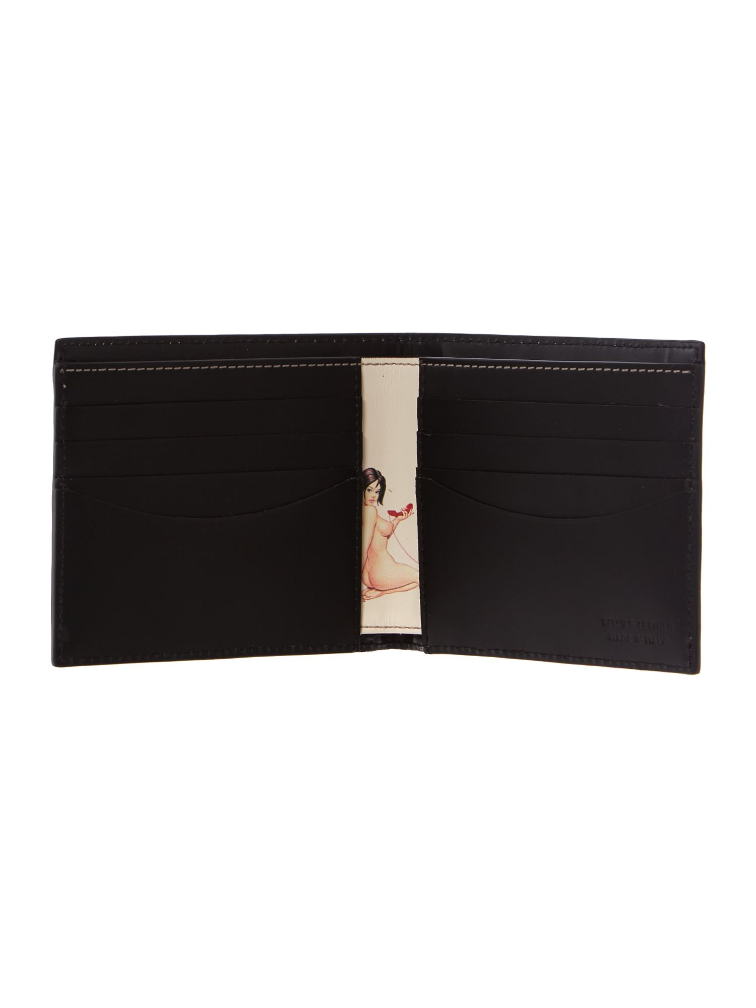 Naked lady billfold wallet