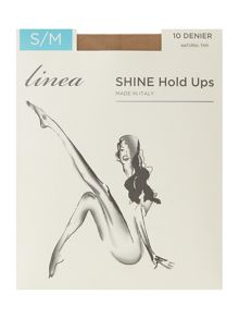 Linea Shine 10 den hold up