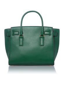 Hamilton Traveller green large tote bag