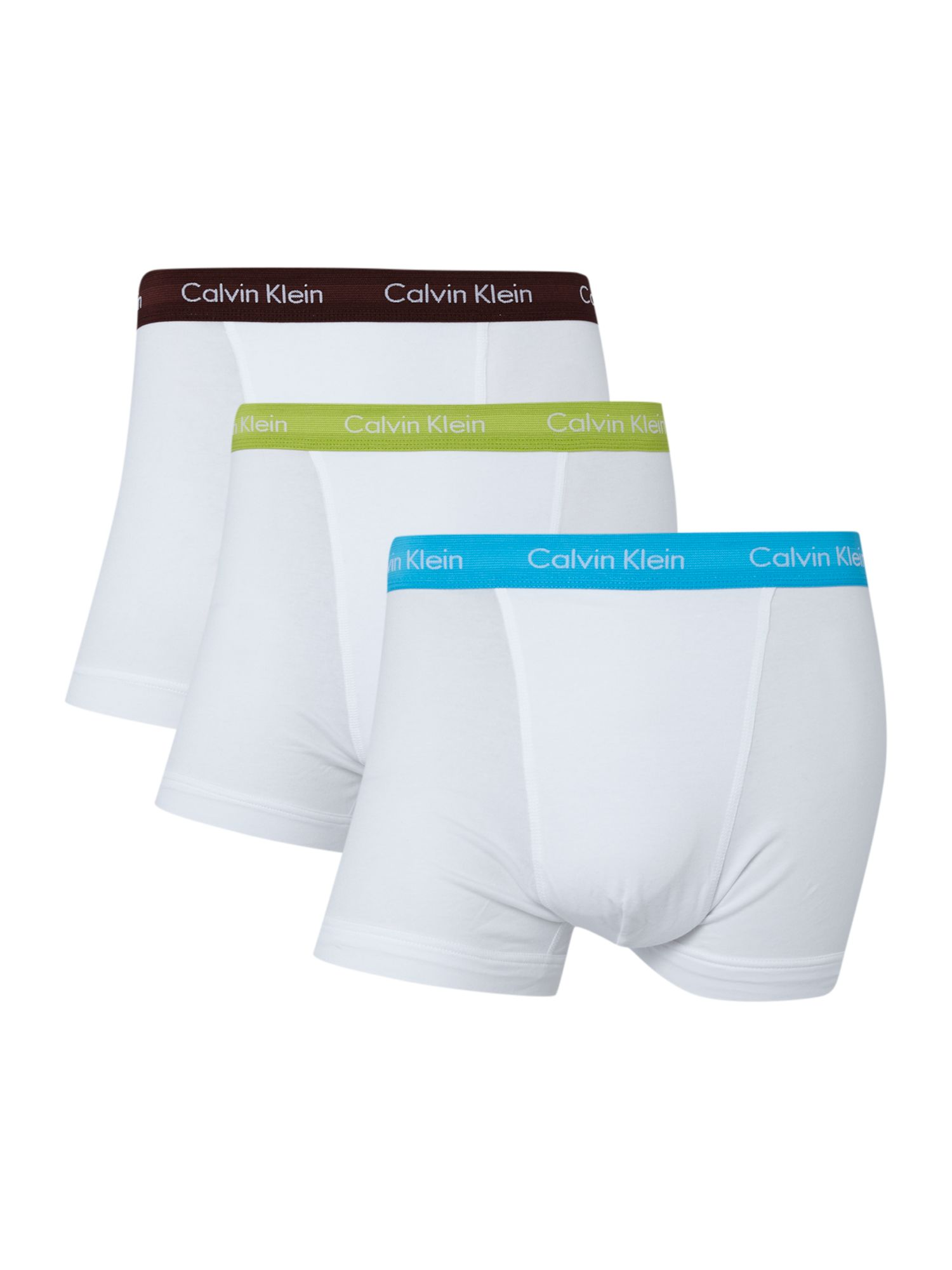 3 pack contrast waistband