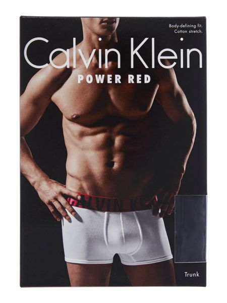 Calvin Klein Power red trunk