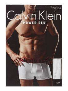 Power red trunk