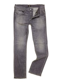 Straight fit byron jeans in search and destroy