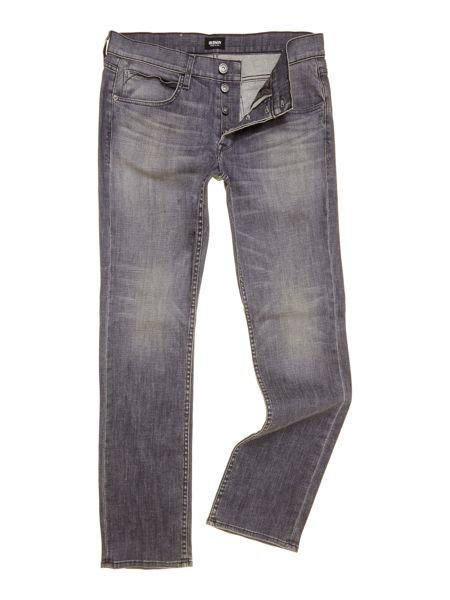 Hudson Straight fit byron jeans in search and destroy