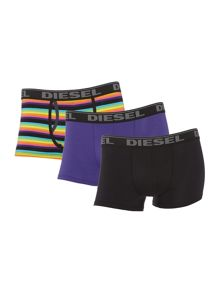3 pack multistripe and plain trunk