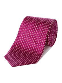 Penerio Mini Diamond Geo Silk Tie