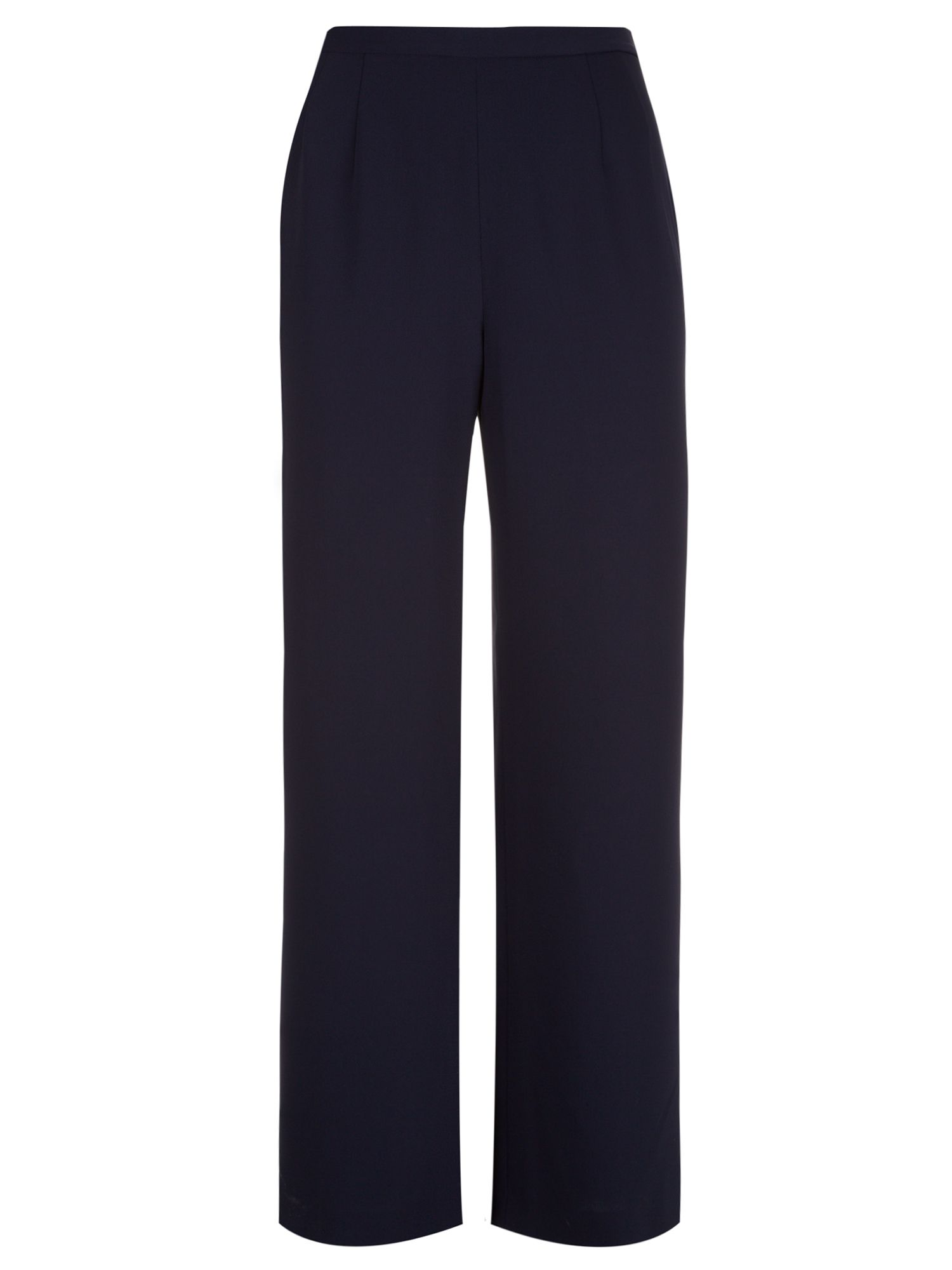Crepe tailored trouser