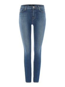 811 mid-rise skinny jeans in connected