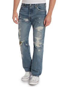 Levi's 501® grip tape distressed jean
