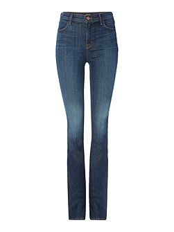 Remy high rise boot cut jeans in storm