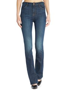 J Brand Remy high rise boot cut jeans in storm