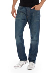 501® original fit scuffed wash jean