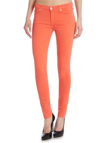 7 For All Mankind The skinny coloured jean in silk touch